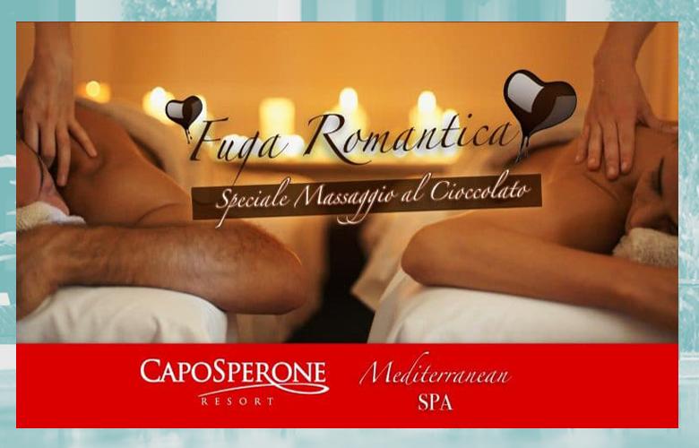 Caposperone Mediterranean Spa Fuga romantica massaggio cioccolato