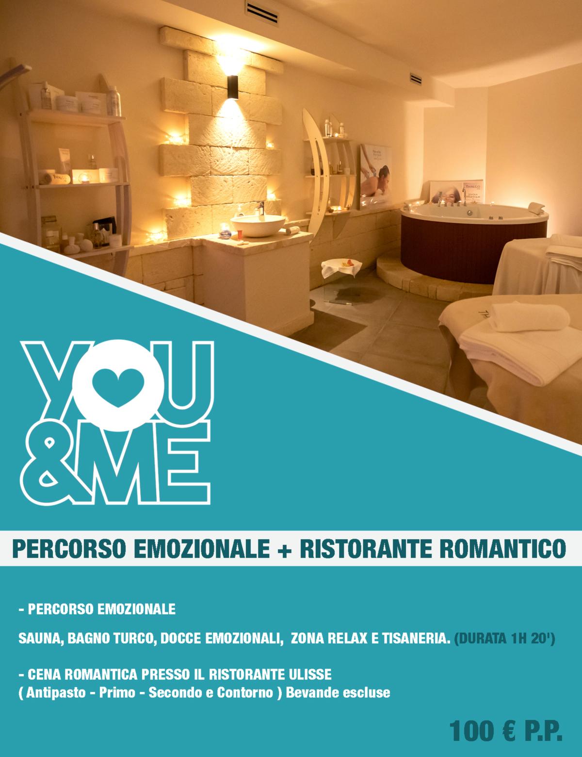Percorso Emozionale+Ristorante Romantico